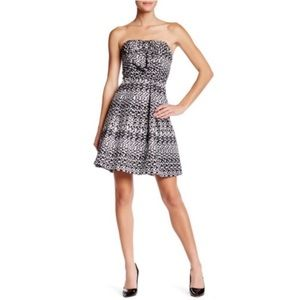 Eva Franco Vera Metallic Bow Dress